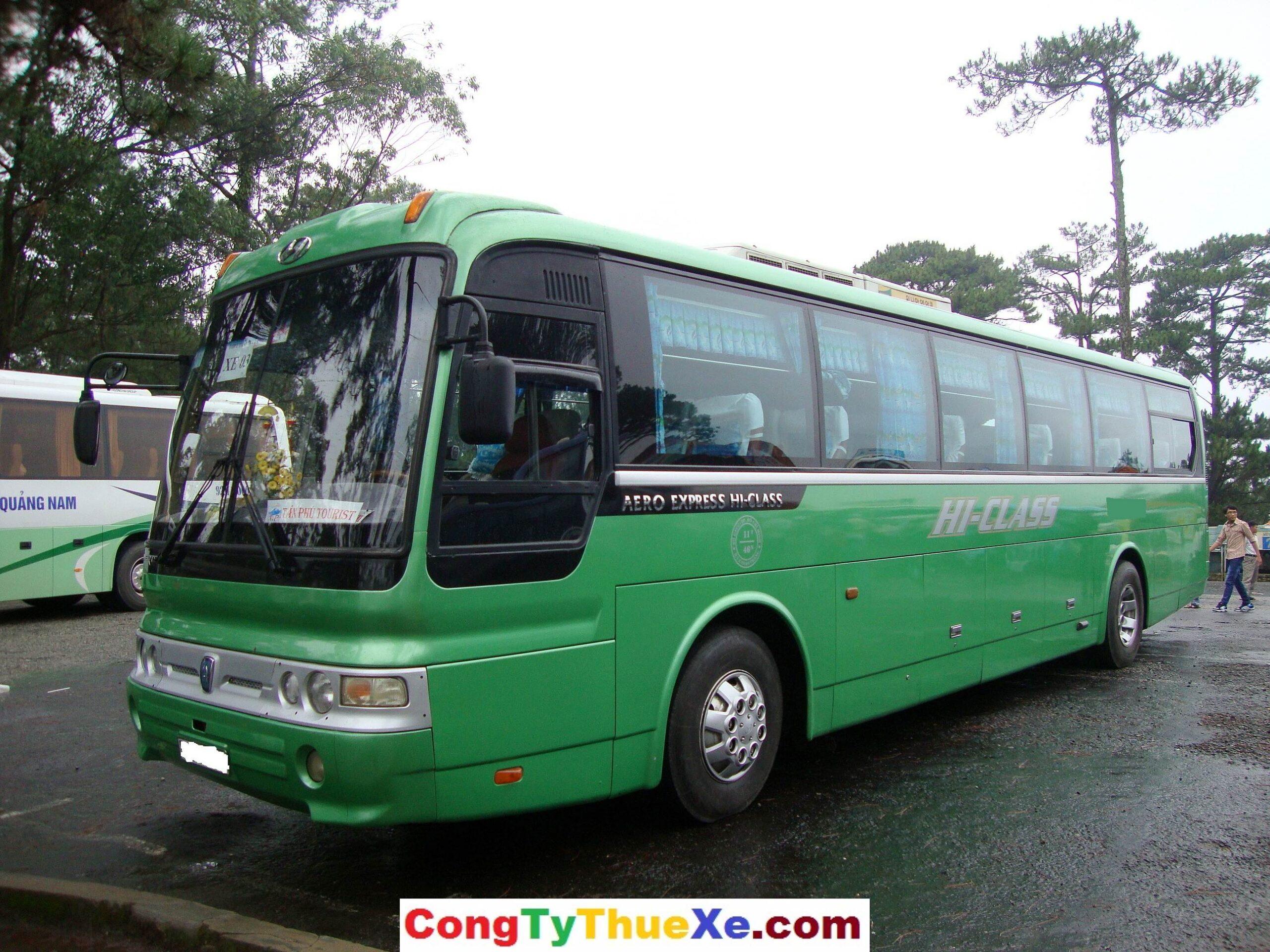 Cho thuê xe du lịch 45 chỗ Hyundai Aero Express