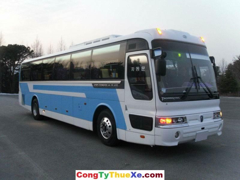 Cho thuê xe du lịch 45 chỗ Hyundai Aero Space