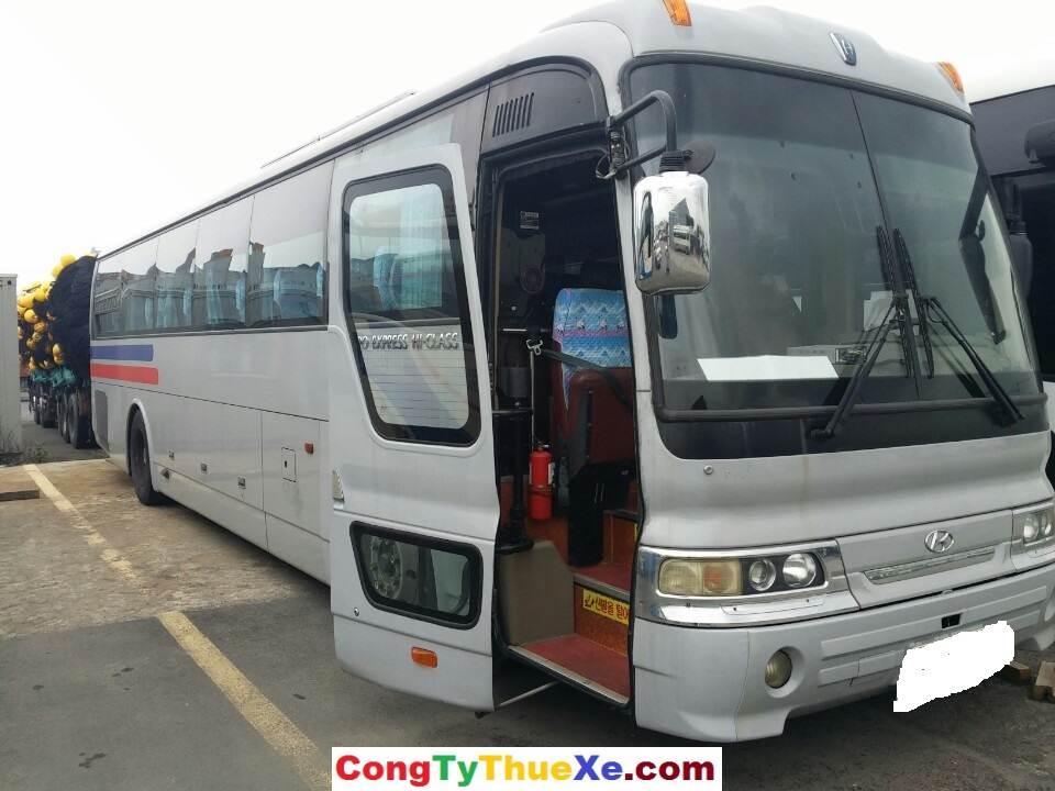 Cho thuê xe du lịch 45 chỗ Hyundai Hi-Class giá rẻ