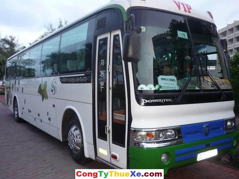 Cho thuê xe du lịch 45 chỗ Hyundai Hi-Class sài gòn
