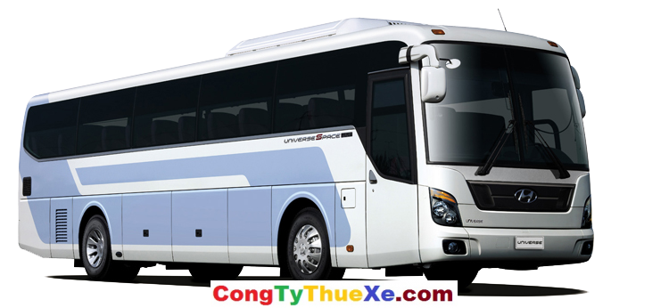 Cho thuê xe du lịch 45 chỗ Hyundai Univer vip
