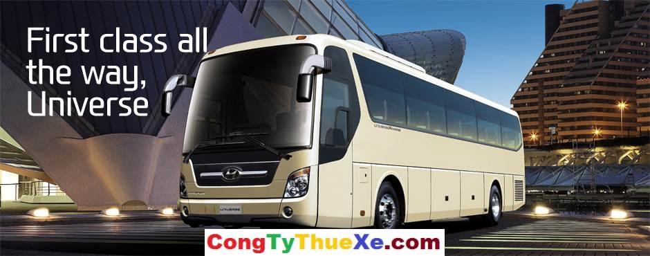 Cho thuê xe du lịch 45 chỗ Hyundai Univer