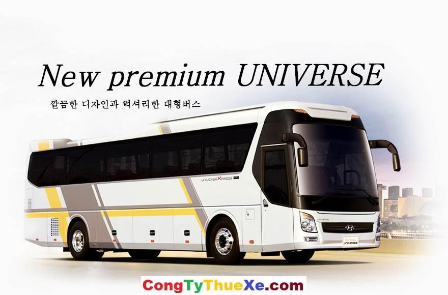 Cho thuê xe du lịch 45 chỗ Hyundai UniverX