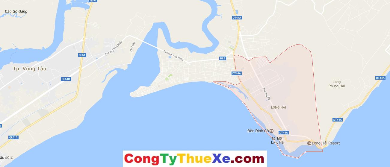 Bản đồ Du Lịch Long Hải