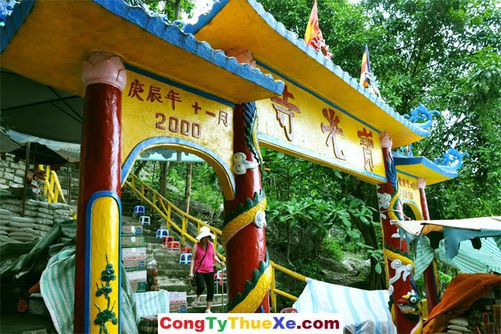 Cổng chùa Bửu Quang – Núi Chứa Chan