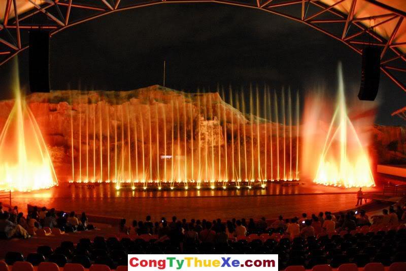 Sân Khấu Nhạc nước ở Vinpearl Land