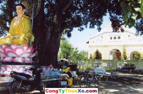 Thuê xe đi Chùa Thiền Lâm Tây Ninh