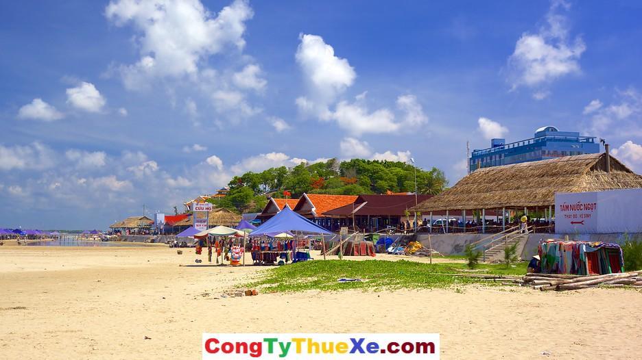 Thuê xe đi bãi biển Long Hải