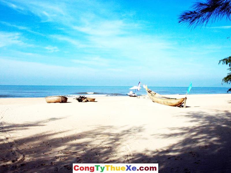 Thuê xe đi biển Hồ Tràm
