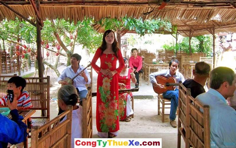 Thuê xe du lịch Tiền Giang cồn Thái Sơn