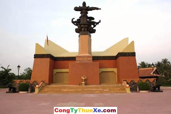 Thuê xe du lịch Tiền Giang khu di tích Rạch Gầm – Xoài Mút