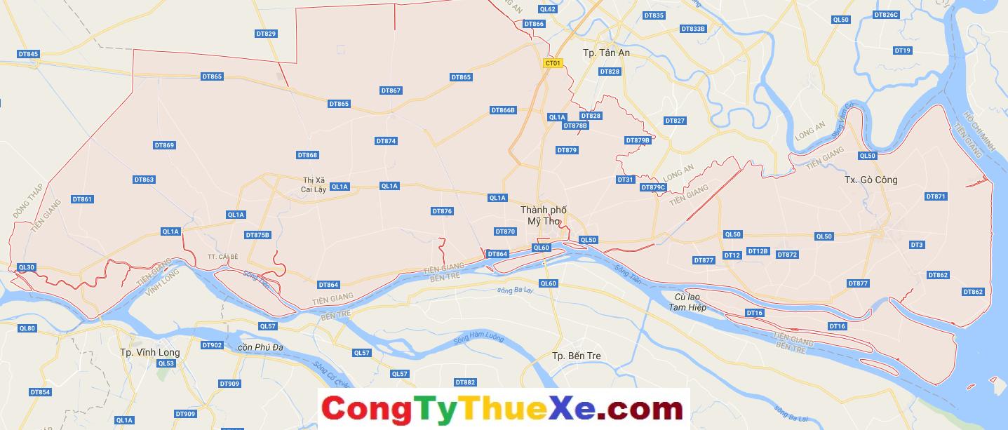 Thuê xe du lịch Tiền Giang