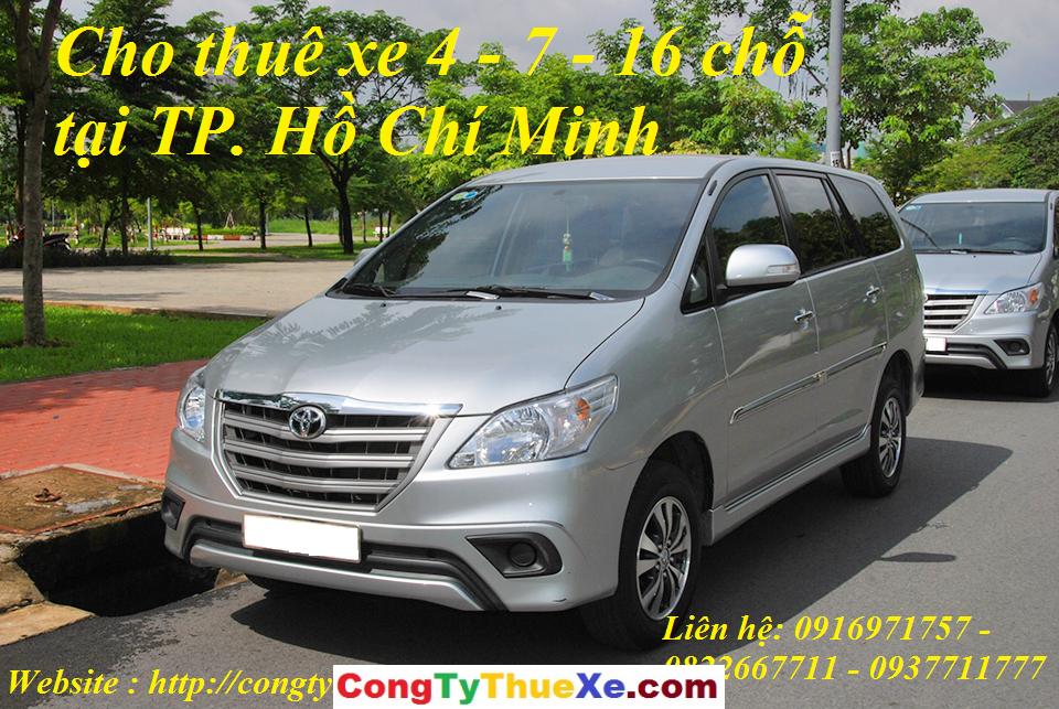 Kinh nghiệm thuê xe tại TP. Hồ Chí Minh