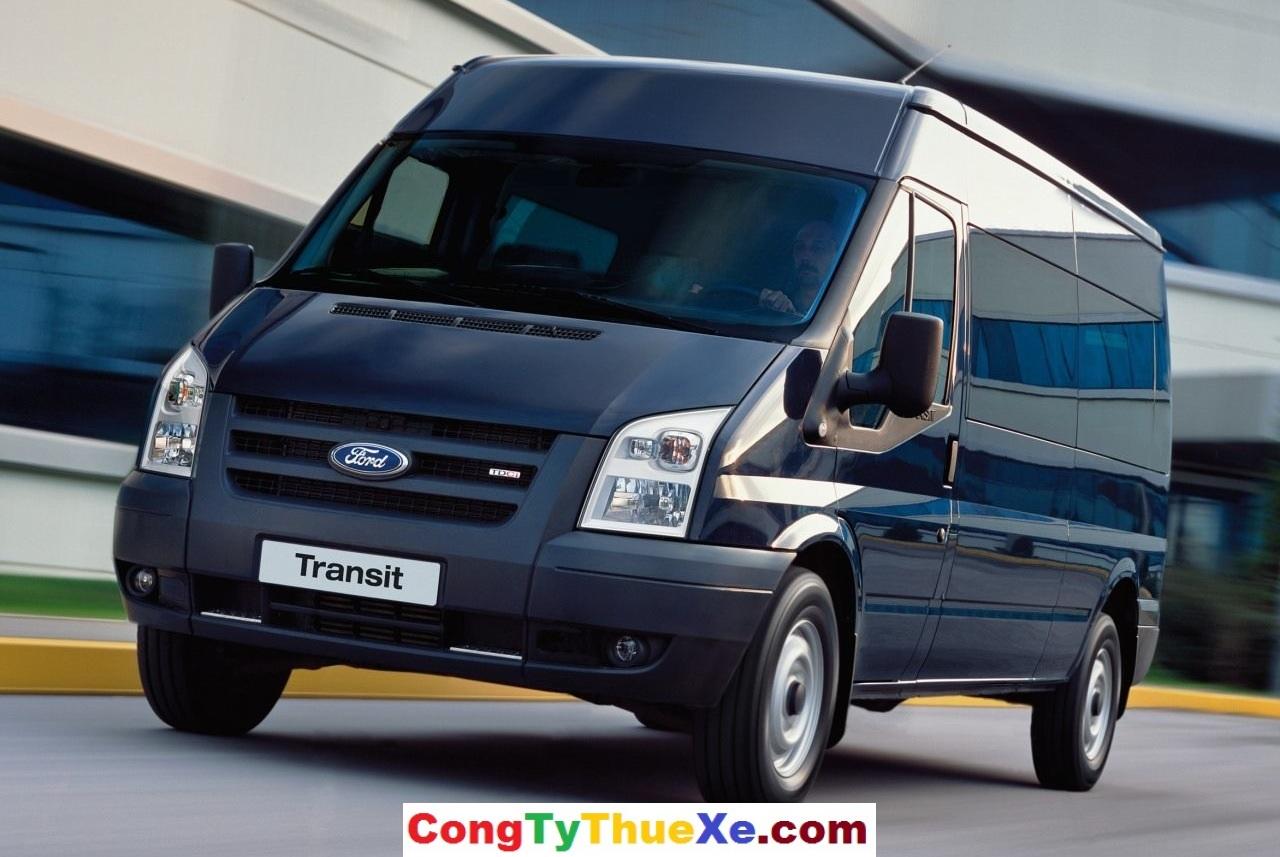 Thuê xe Ford Transit 16 chỗ tại TP.HCM