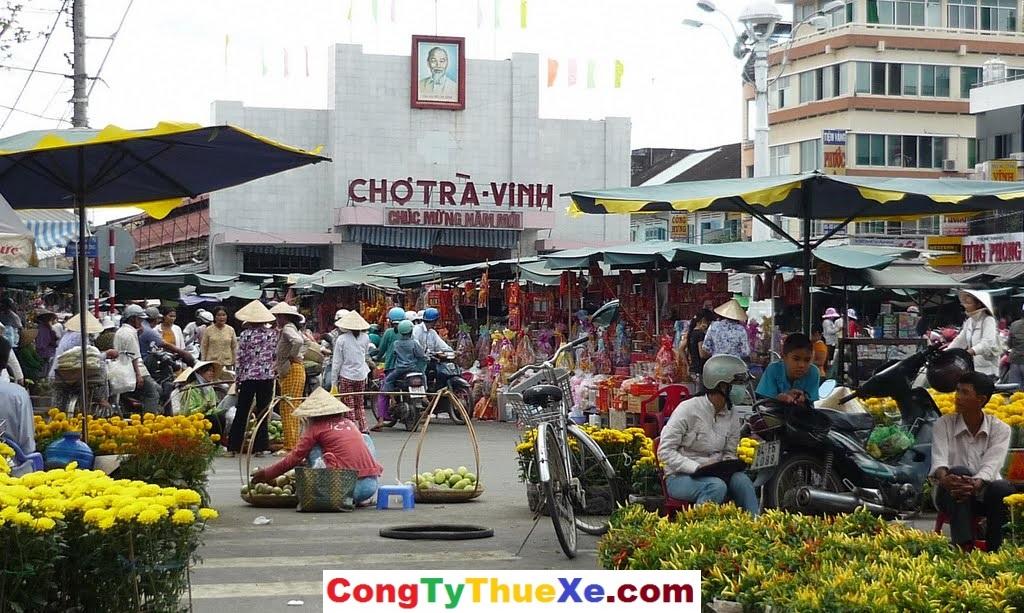 Chợ Tết Trà Vinh