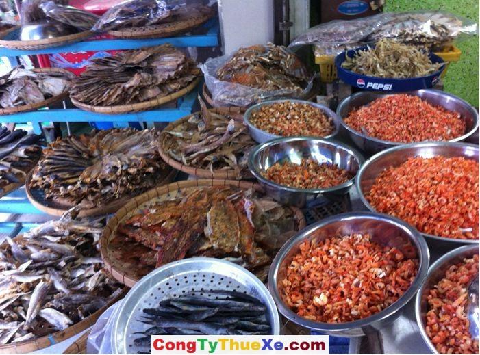 Hải sản khô Phan Thiết